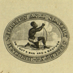 British & Foreign Anti Slavery Society letterhead